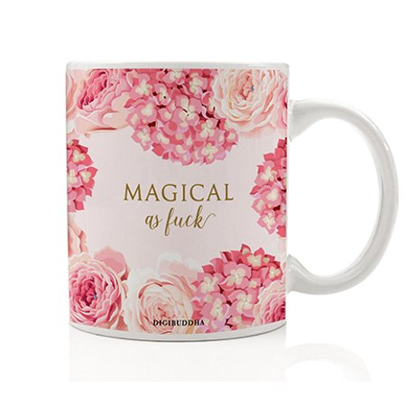 Magical Mug, I'm Fabulous Women's Gift Idea Magic Funny Christmas Humorous Birthday Present Her Woman Wife Girlfriend Friend Sister Coworker 11oz Ceramic Tea Cup Digibuddha
