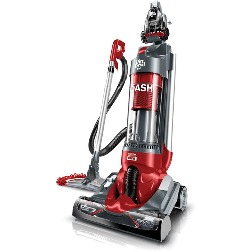 Dirt Devil Dash Bagless Upright Vacuum with Vac+Dust Floor Tool, UD70250B