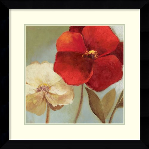 Amanti Art 'Gentleness' by Asia Jensen Framed Painting Print by Amanti Art