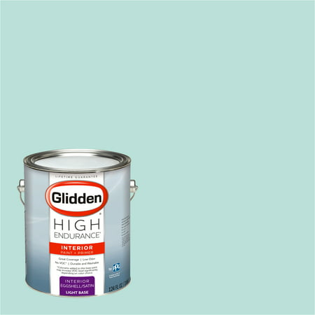 Glidden High Endurance, Interior Paint and Primer, Lime Foam, #50GG 69/134, Eggshell, 1 Gallon