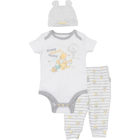269d29141 Disney - Disney Winnie the Pooh Newborn Baby Boys  Bodysuit Cap ...