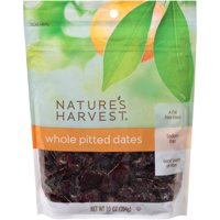 Nature's Harvest Whole Pitted Dried Dates, 10 oz