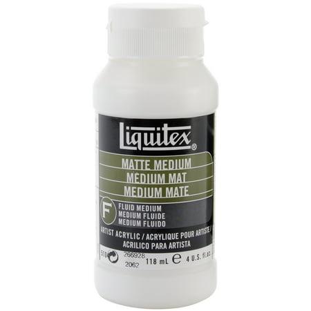 Liquitex Matte Acrylic Fluid Medium-4oz