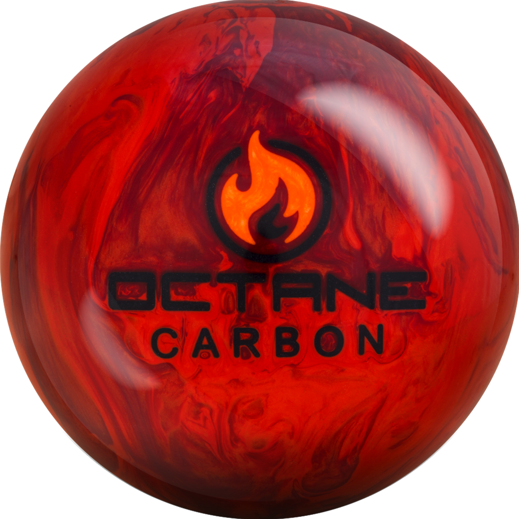 Motiv Octane Carbon Bowling Ball- Red Fire Pearl (15lbs) by MOTIV Bowling Products