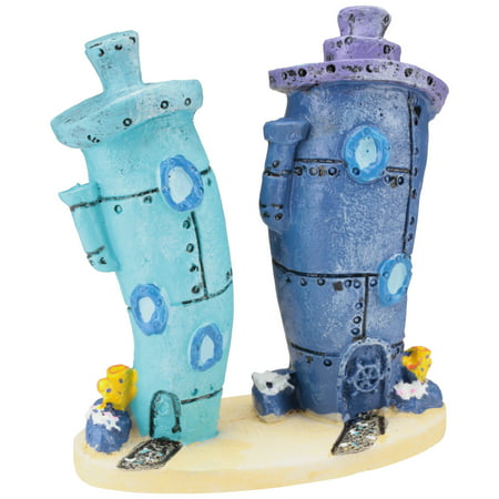 Penn Plax SpongeBob Bikini Bottom Homes Aquarium Ornament](Spongebob Decorations)