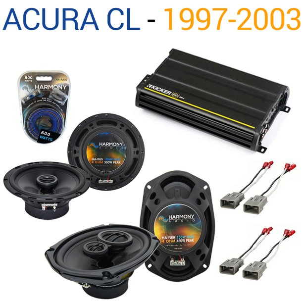 Acura CL 1997-2003 Factory Speaker Replacement Harmony R65