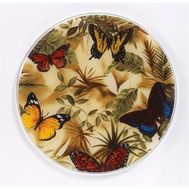 Andreas TRT-23 10 inch Butterfly Silicone Trivet - Pack of 3