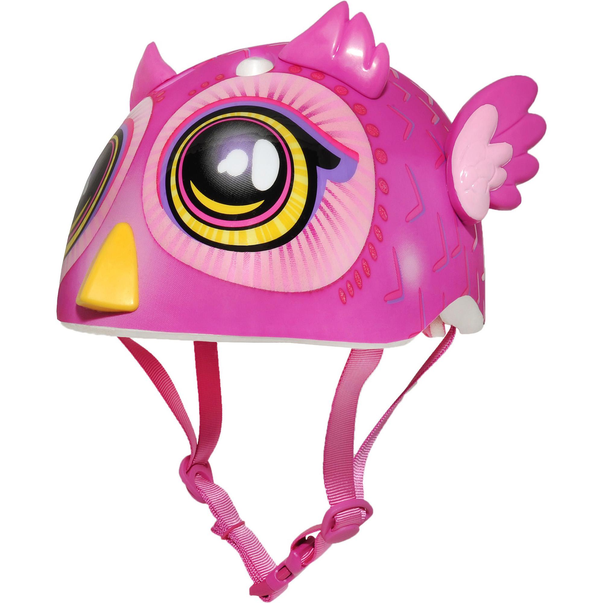 Raskullz Big Eyes Owl Miniz Bike Helmet, Toddler (18-24mos)