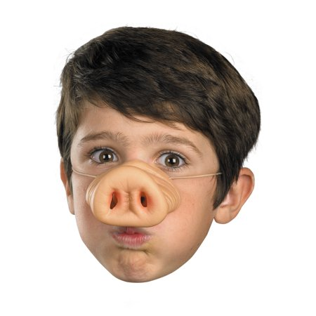 Pig Nose Child Halloween Accessory](Pigs In A Blanket Halloween Fingers)