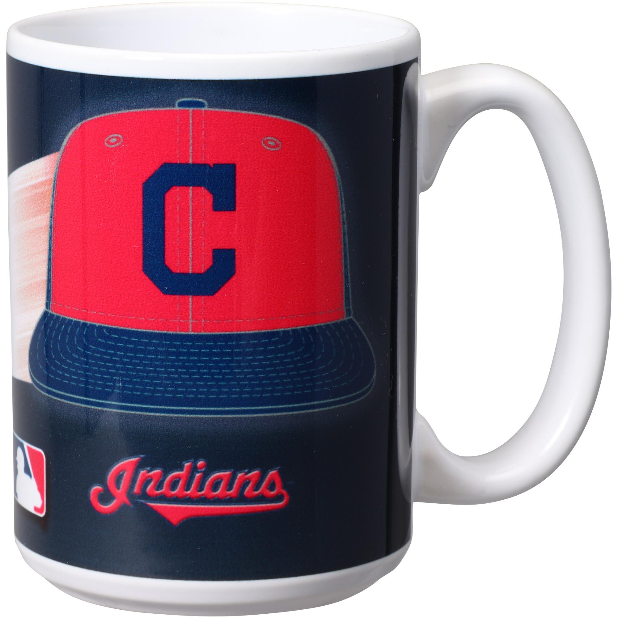 Cleveland Indians 15oz. Team 3D Graphic Mug - No Size