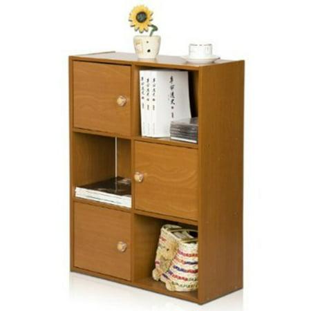 11189 Pasir 3-Tier Shelf with 3 Doors with Round Handle ()