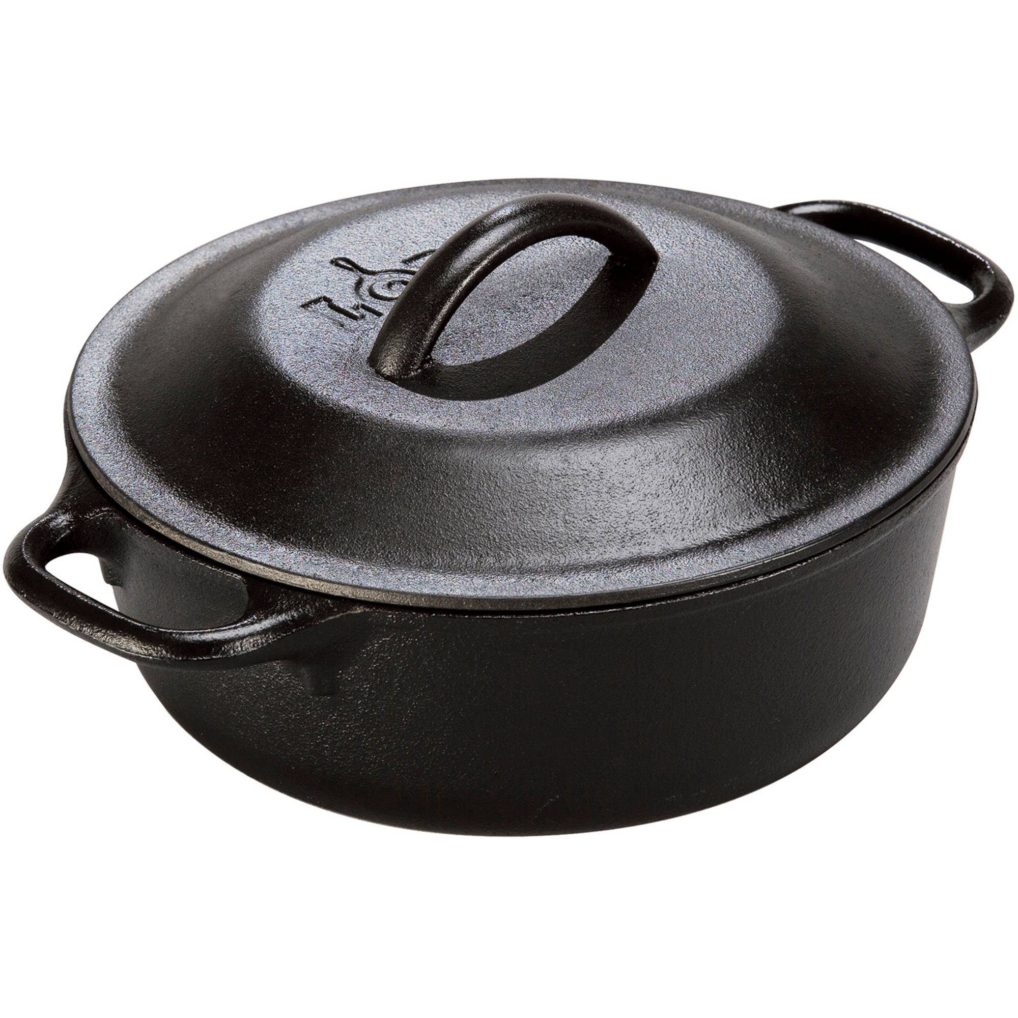 Cheap cajun cookware dutch ovens 6 quart seasoned cast iron dutch oven - Lodge 8 Cast Iron Serving Pot Pre Seasoned 2 Quart L2sp3 Walmart Com