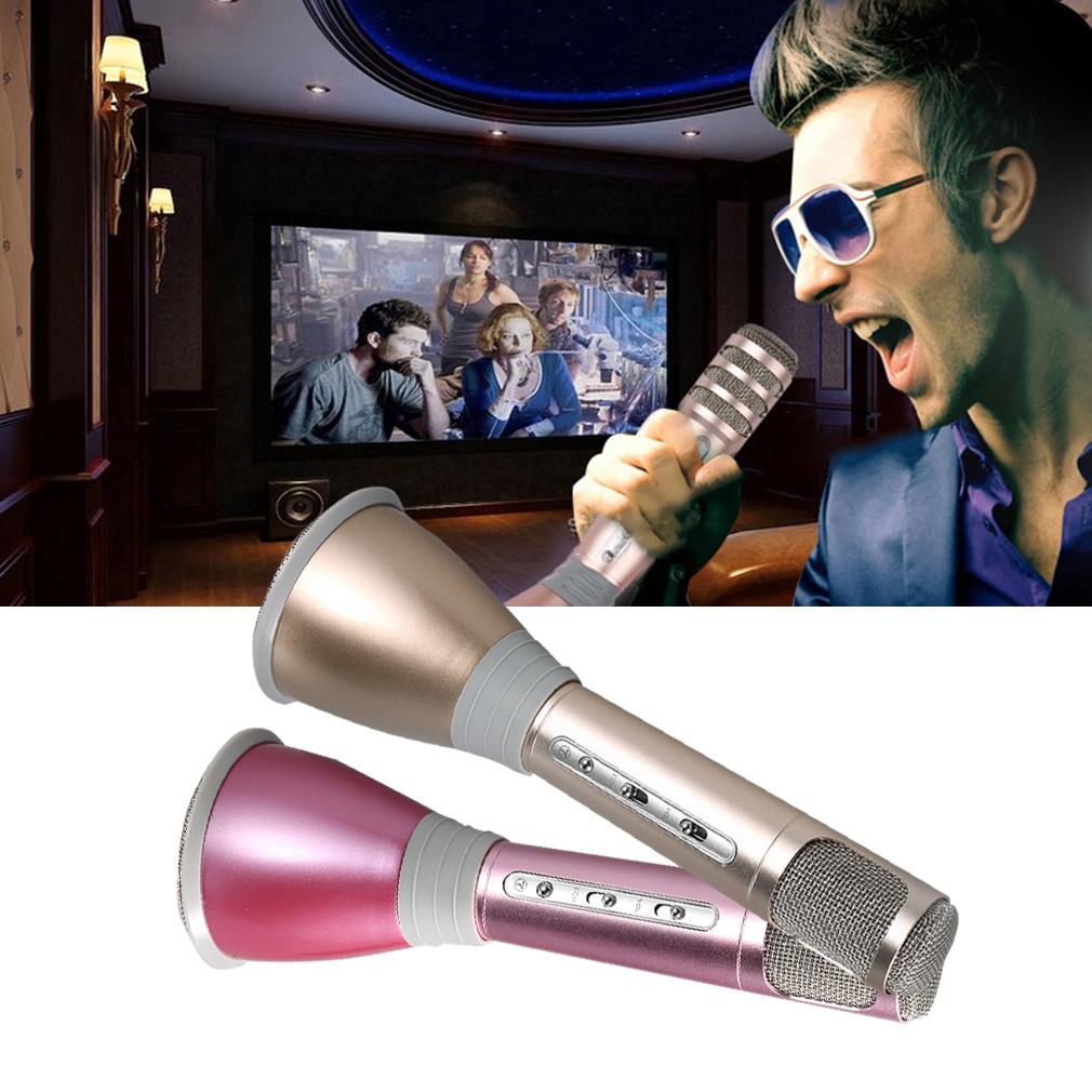 Professional K068 Wireless Metal HandHeld Microphone Karaoke Gifts by Generic