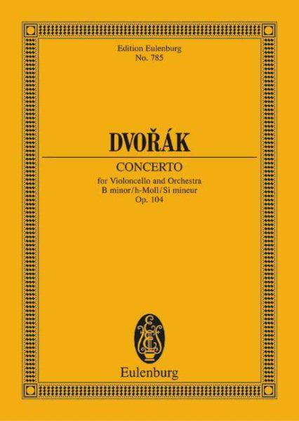 Cello Concerto in B-minor Opus 104 by