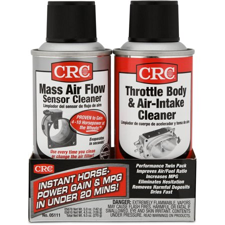 Unika CRC MAF & Throttle Body Single-Use Twin Pack, 1 Kit - Walmart.com PE-68