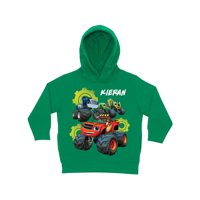 Personalized Blaze And The Monster Machines Team Green Toddler Hoodie