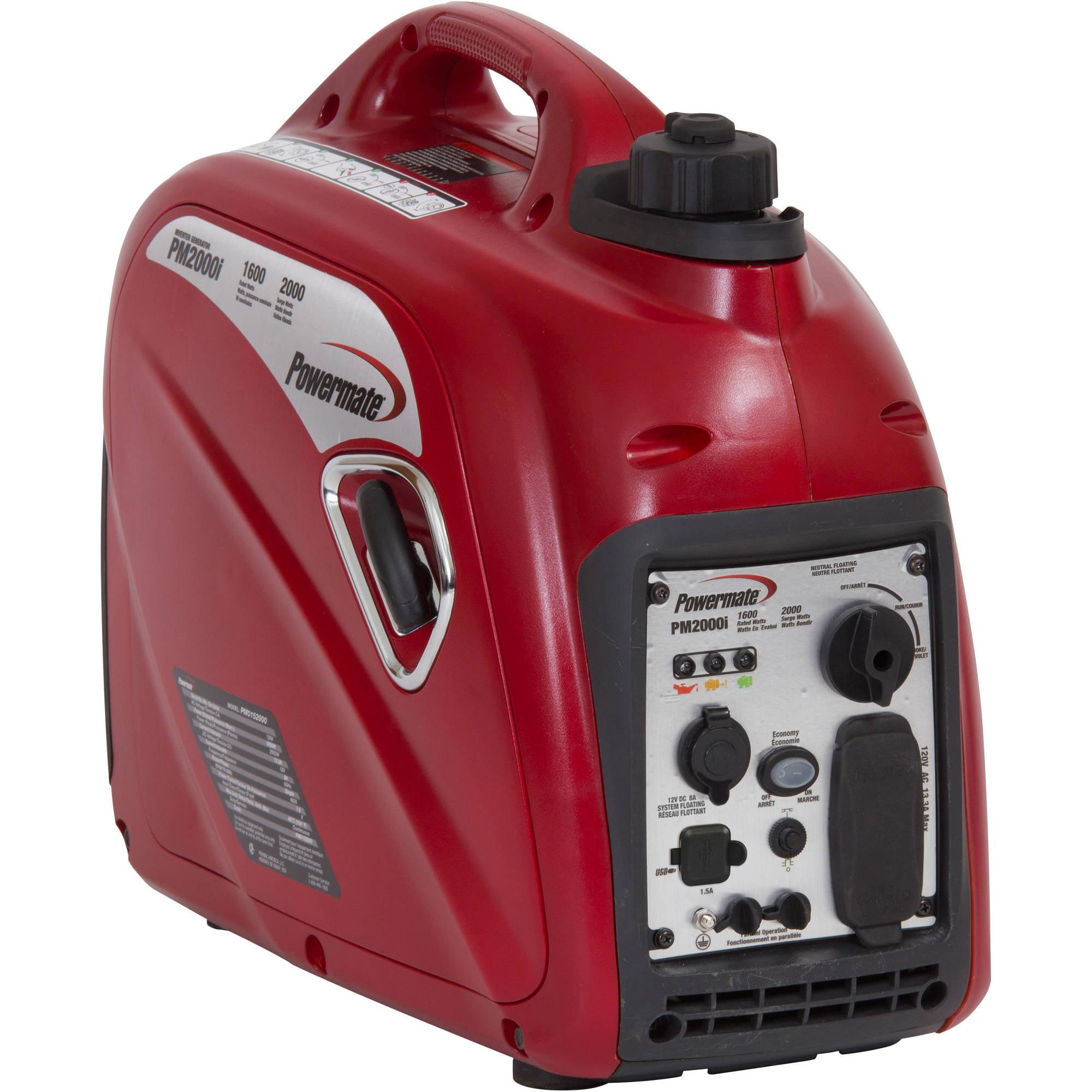 Powermate 2000I Portable Inverter Generator