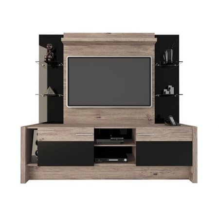 Manhattan Comfort Morning Side 74  Entertainment Center In Beige