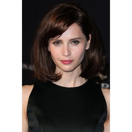 Felicity Jones At Arrivals For 2014 Bafta Los Angeles Jaguar Britannia Awards Presented By Bbc America And United Airlines Canvas Art     16 X 20
