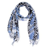In Things Corp Handmade Saachi Women's Mixed Print Scarf (India)