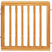 Evenflo Home Decor Wood Swing Gate Natural Oak Image 1 Of 2