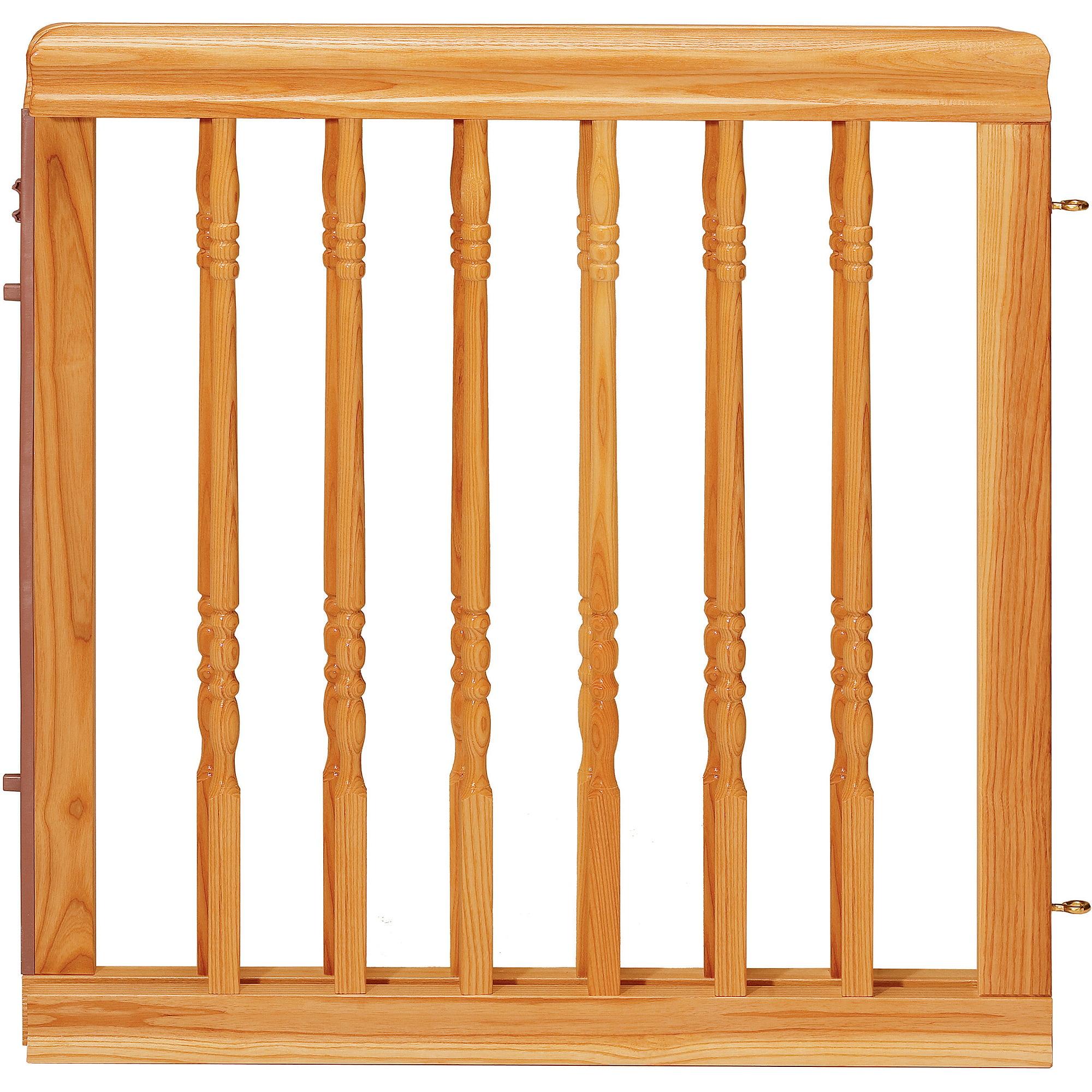 Evenflo Home Decor Wood Swing Gate, Natural Oak