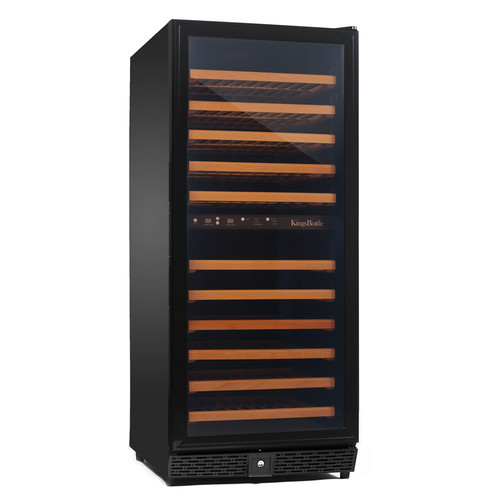 Kingsbottle 120 Bottle Dual Zone Built-In Wine Refrigerator
