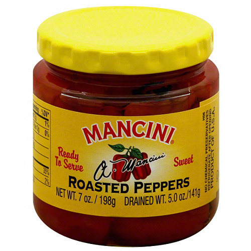 Mancini Roasted Sweet Peppers, 7 oz, - Pack of 12