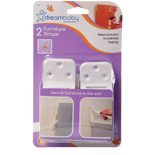 Dreambaby Furniture Straps, 2 Pack
