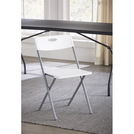 Mainstays Resin Folding Chair 2 Pack With Open Handle