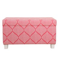 HomePop Juvenile Deluxe Storage Bench, Multiple Colors