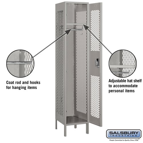 Salsbury Industries 1 Wide 1 Tier Employee Locker