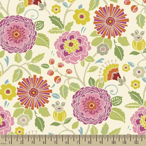 Springs Creative Bohemian Garden Floral Master Fabric by the Yard