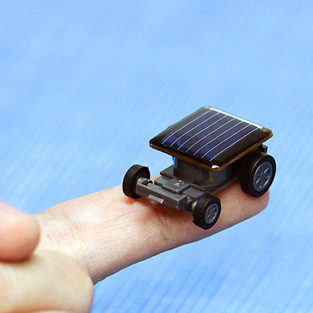 - Smallest Solar Power Mini Toy Car Racer Educational Solar Powered Toy