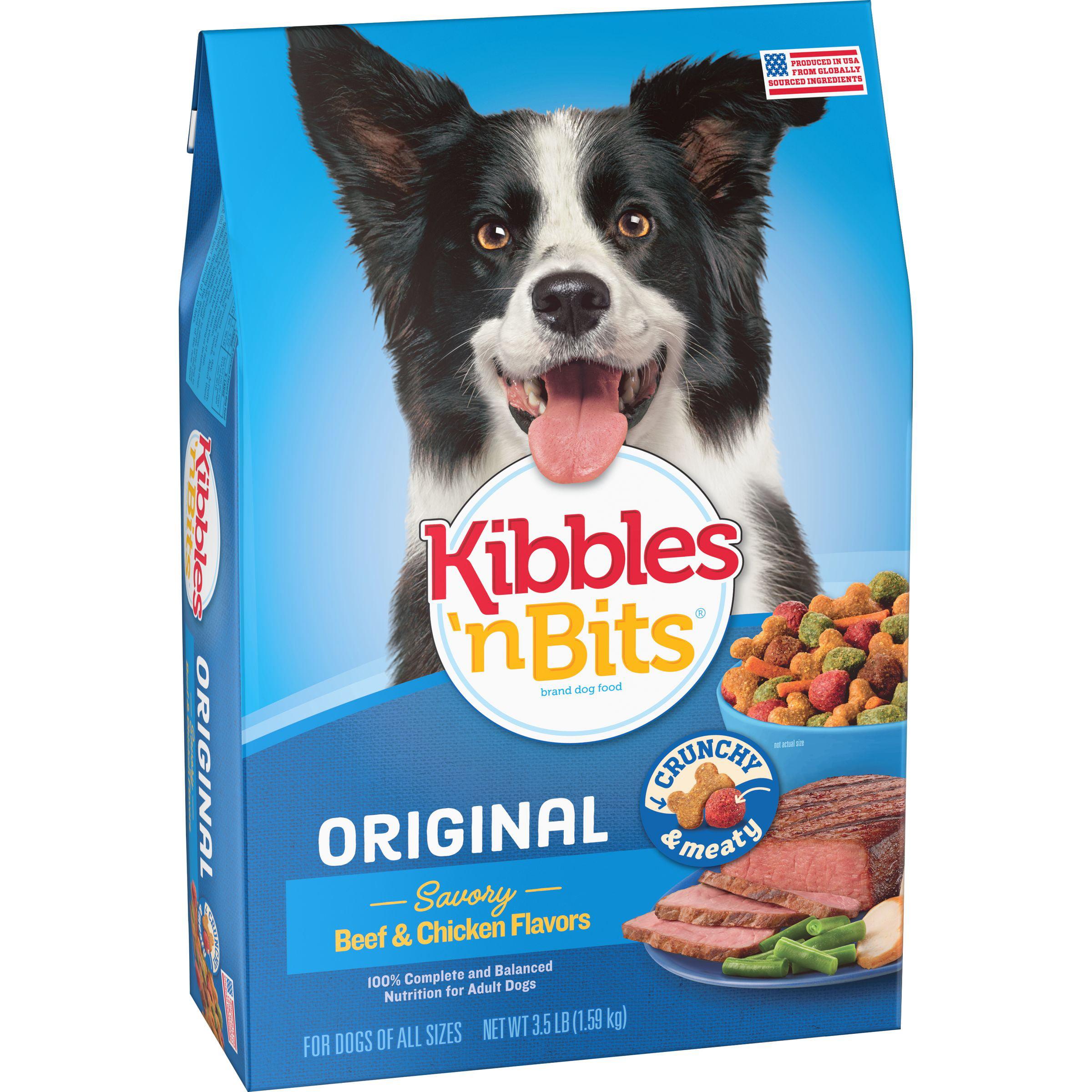 Kibbles 'N Bits Original Dog Food, 3.5-Pound