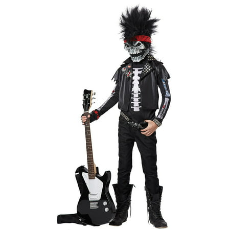 Child Dead Man Rocker Costume by California Costumes 00403