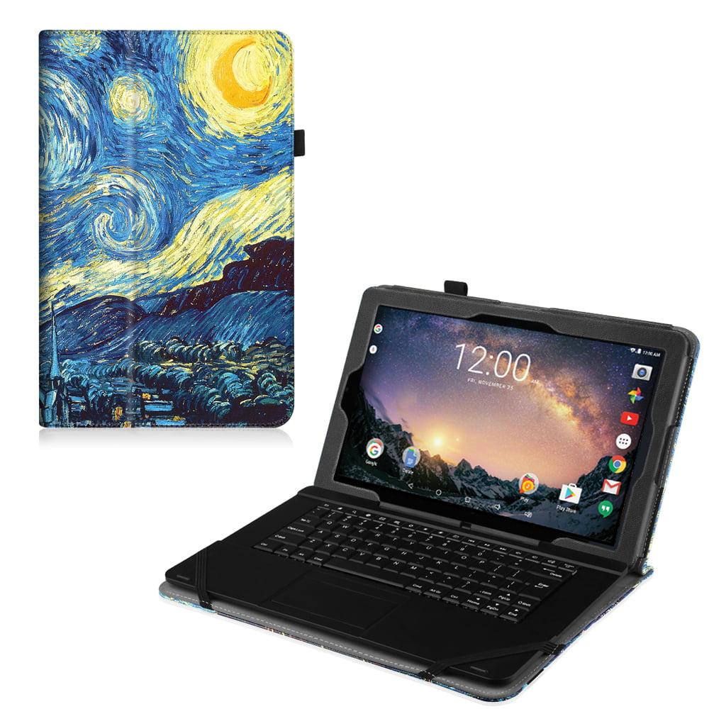 "RCA 11 Galileo Pro11.5"" Tablet Case (RCT6513W87DK C)- Fintie Premium Vegan Leather Folio Stand Cover, Love Tree"
