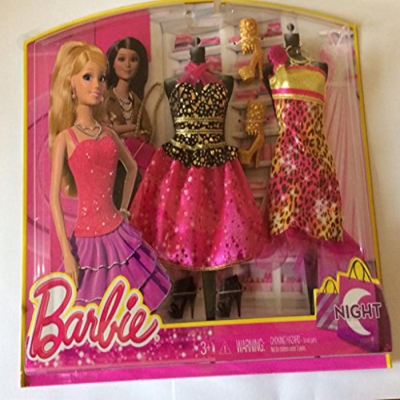 Barbie Fashion Night Looks Pink and Black CHeetah by Mattel by