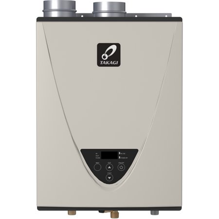 Takagi T-H3J-DV-NG TH3 Series 160000 BTU Direct Vent Whole House Natural Gas Tankless Water -