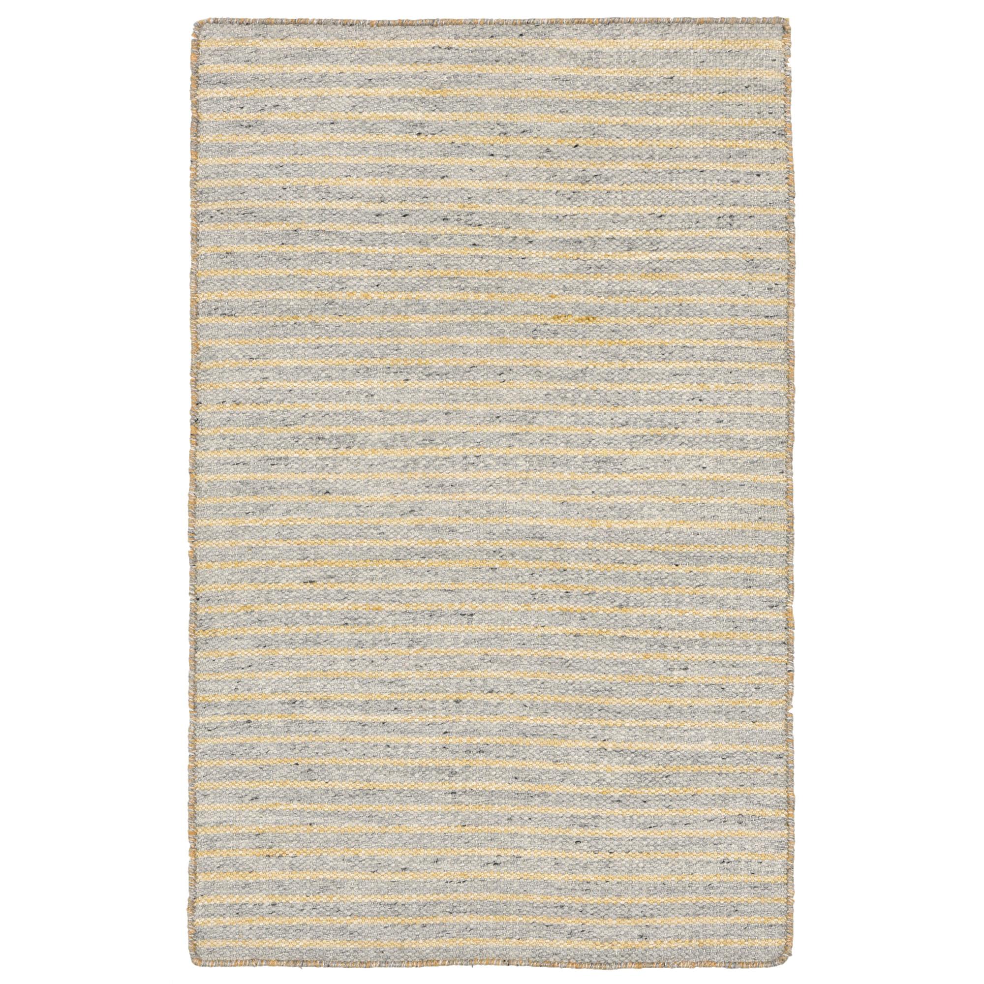 Liora Manne Mojave 6203/47 Pencil Stripe Grey Area Rug