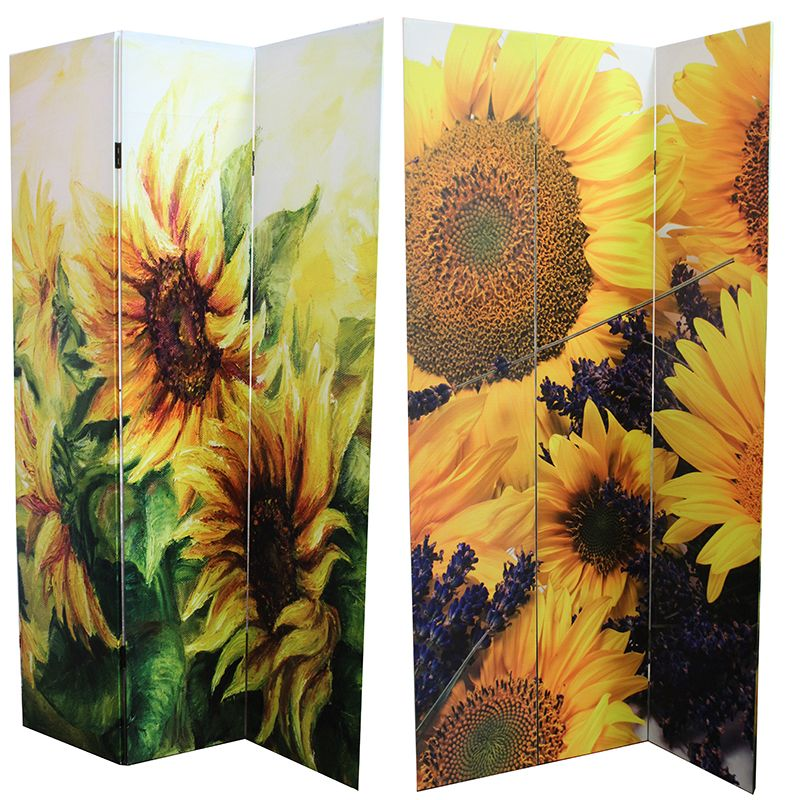 Entrada EN26040 Room Divider - Sunflower