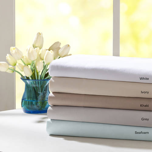 Set White Anklet - Comfort Classics Forever Percale Sheet Set