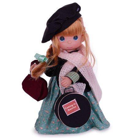 Precious Moments Dolls by The Doll Maker, Linda Rick, Coming to America, Ireland, 12 inch doll