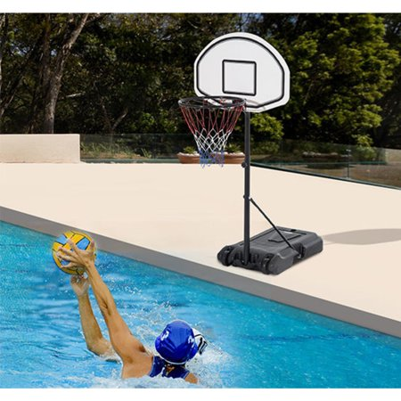 Ktaxon Pool Basketball Hoop, Portable Kids Youth Basketball Goal ...