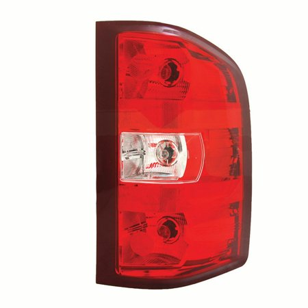 07 Chevrolet Silverado 1500 Light - NEW RIGHT TAIL LIGHT FITS CHEVROLET SILVERADO 1500 10-11 2500 3500 2011 GM2801249 20840272
