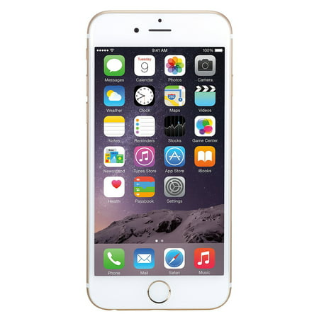Apple iPhone 6 Plus 64GB Unlocked GSM Phone w/ 8MP Camera - Gold Refurbished