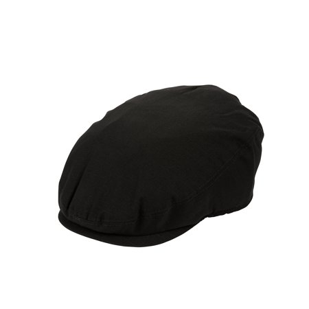 Men's George Black Woven Polyester Ivy Cap