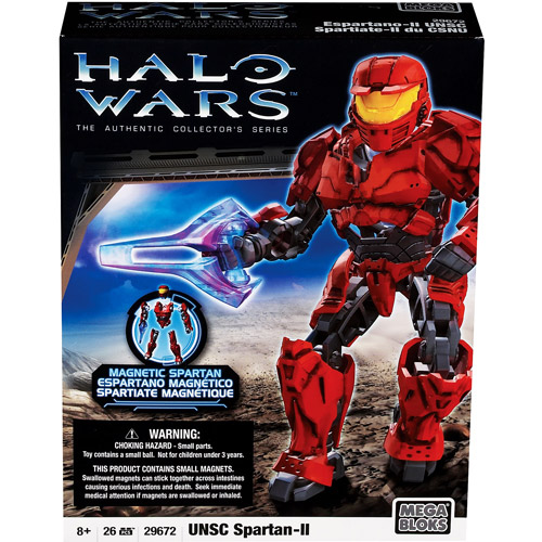 Amazon.com: Halo Wars Mega Bloks Set #3 UNSC Red Combat Unit ...