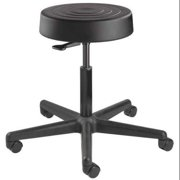 BEVCO S3300-Black seat Stool,No Backrest,21 in. to 28-1/2 in. G1999545