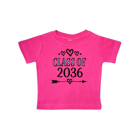 Class Of 2036 Childs Graduation Baby T-Shirt - Kids Graduation